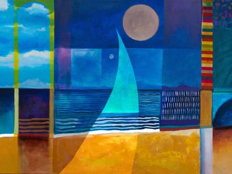 Ar Lan y mor . Seaside