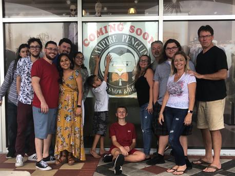 The Herrington Family joins the Vampire Penguin Family!
