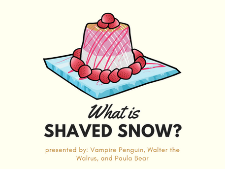 Vampire Penguin Shaved Snow - The final evolution of shaved ice