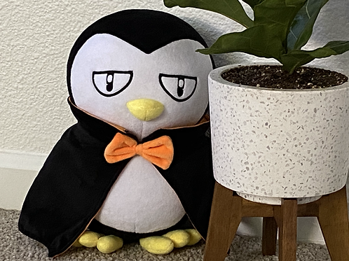Vampire Penguin Plush