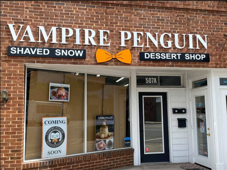 Vampire Penguin finds himself TWO NEW HOMES in South Carolina