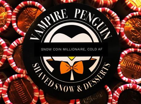 Vampire Penguin is a Snow Coin Googolplexionaire Extraordinaire