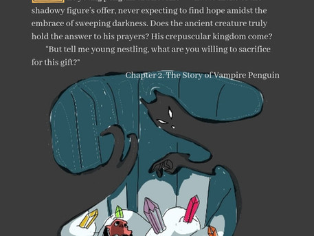 Excerpt from Chapter 2 of the Vampire Penguin story