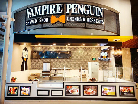 Vampire Penguin Cupertino Grand Opening 2/2/2020. See you after the Super Bowl!