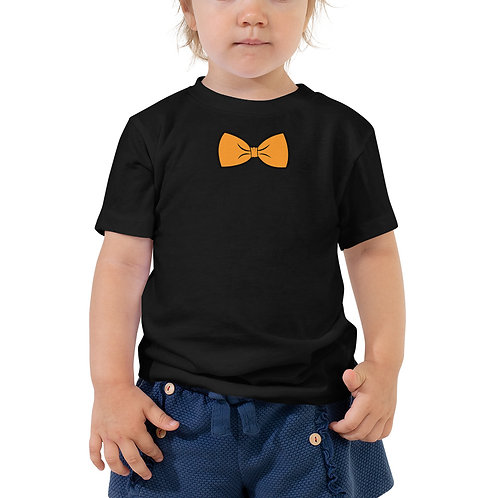 Bow Tie Toddler Short Sleeve Tee