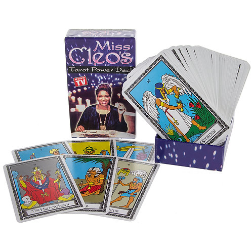 Miss Cleo's Tarot Cards Power Deck Psychic Fortune Telling Seer