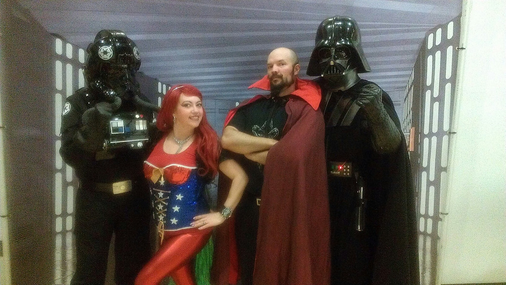 I did my Dr. Strange Magic Show at a comic book festival in Utah.  magic, mind reading, games, variety, and comedy