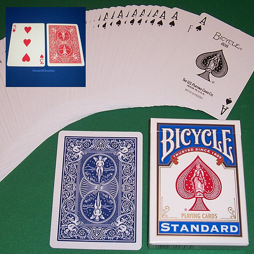 1-Way Forcing Deck, Bicycle Standard Index