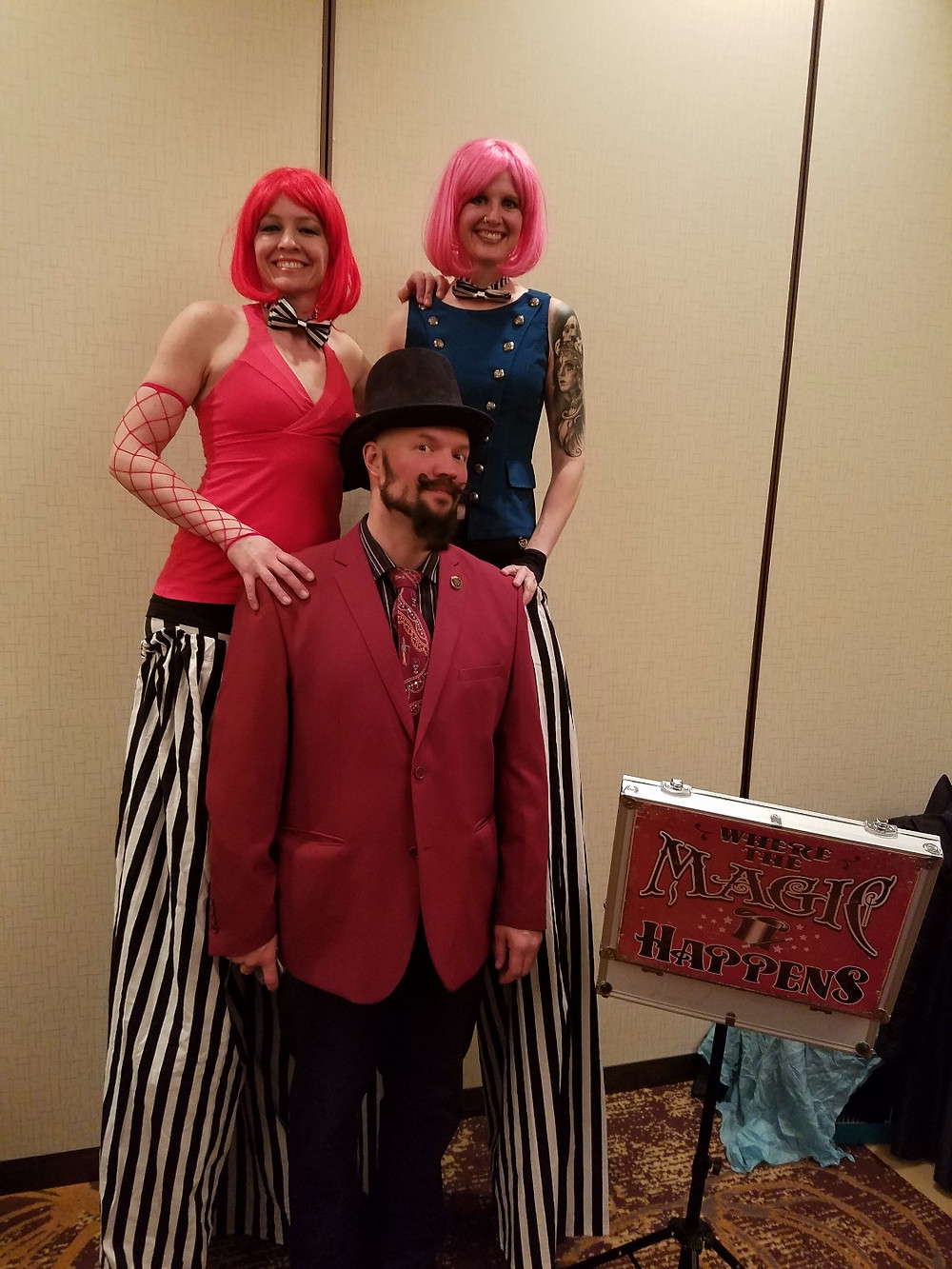 mentalist and circus performers!