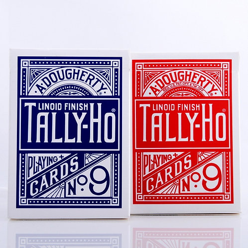 1pcs Original Tally-Ho No.9 Deck Playing Cards Poker Magic Tricks for Magicians