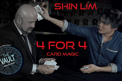 The Vault - 4 for 4 by Shin Lim,Magic Tricks