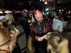 Halloween magician