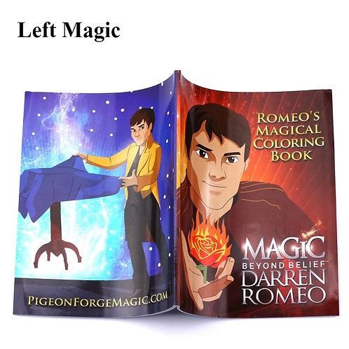 A Fun Magic Coloring Book - Large Size(27.5cm*21cm*0.7cm) Magic Tricks
