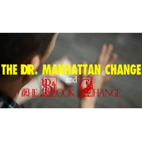 Dr. Manhattan Change & Book Change-Magic Tricks