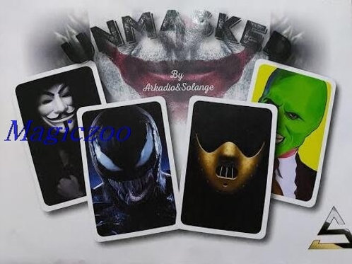 Unmasked by Arkadio and Solange Magic Tricks