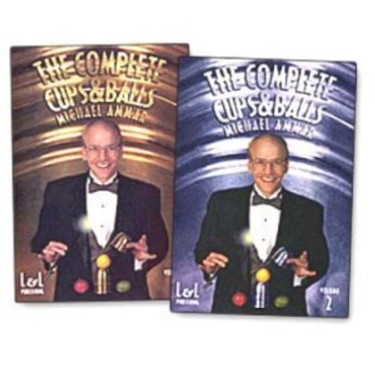 Michael Ammar - The Complete Cups and Balls -- Magic Tricks