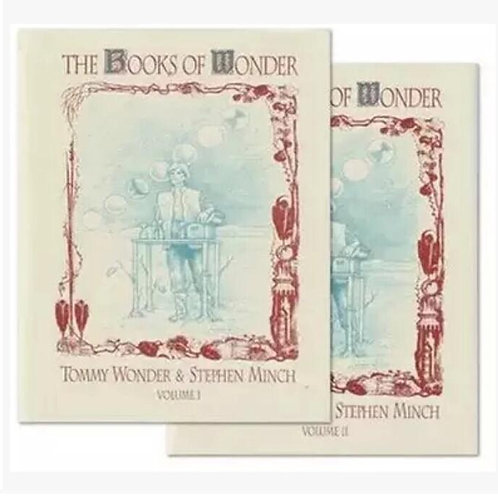 The Books of Wonder by Tommy Wonder (2 Volume Set) - Magic Trick, Magic Tricks