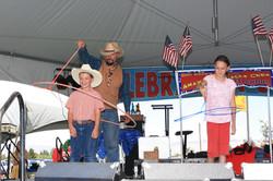wild west cowboy show