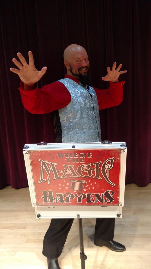 Parlor Magic at the Prohibition