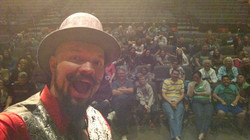 Selfie with the audience