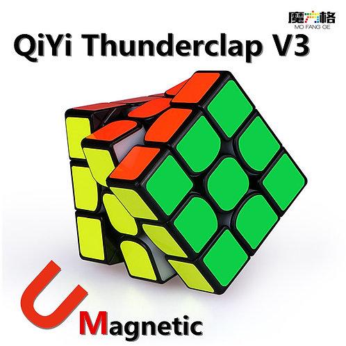 QIYI Mofangge Thunderclap V3 3x3x3 Magnetic Cube Professional Speed V3  Puzzle