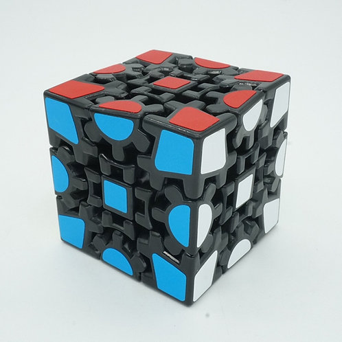Gear Style Cube Magic 3x3x3  Profissional Speed Puzzle Educational Toys