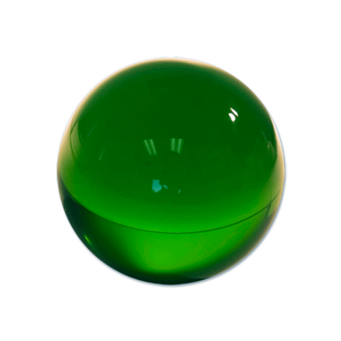 Contact Juggling Ball (Acrylic, FOREST GREEN, 76mm)