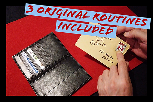 JPV WALLET (Gimmicks and Online Instructions) by Jean-Pierre Vallarino