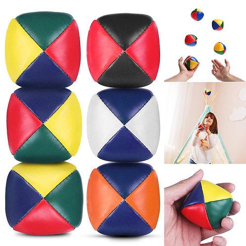 5Pcs Juggling Balls Set Durable Soft Easy Juggle Balls  BM88