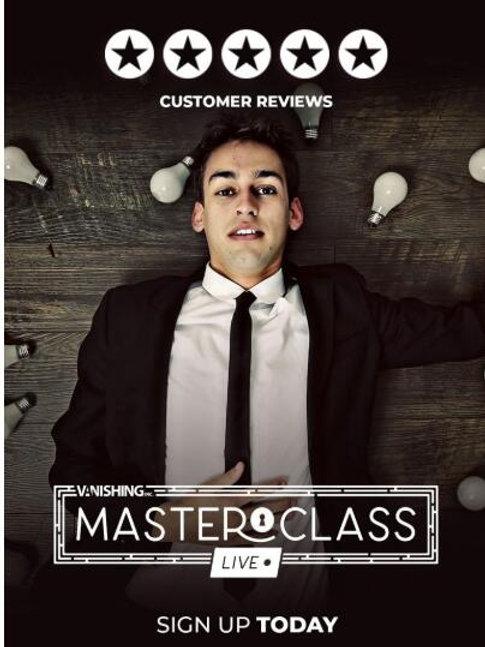 Blake Vogt  Masterclass Live (Week 1-2 Week 3) Magic Tricks