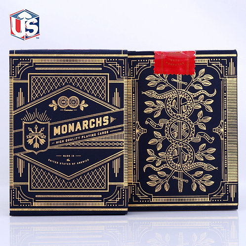 1 Deck of Theory11 Monarch Playing Cards Deck Poker Cards Close Up Magic Tricks