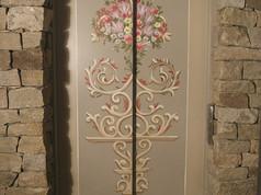 ascenseur decor baroque meribel vue de f