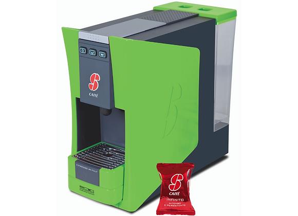 S.12 Kapselmaschine grün - Limited Edition