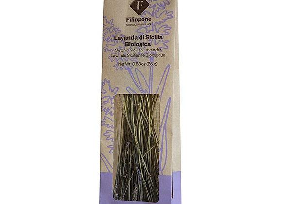 Lavendel, organisch bio handgepflückt aus Sizilien, 25g