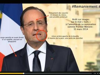Hollande assume Valls Premier Ministre... mais pas sa peur