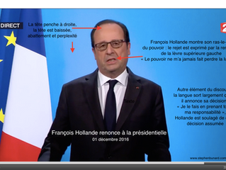 Hollande renonce à la présidentielle : plutôt souffler qu'essuyer un soufflet
