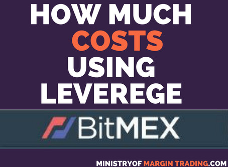 Cost of use Bitmex leverage to buy/sell Bitcoin?