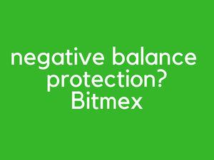 Bitmex negative balance protection - cross margin vs separated margin