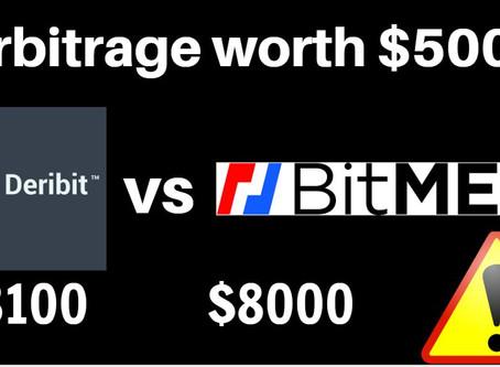BitMEX vs Deribit - Bitcoin arbitrage? How to do it?