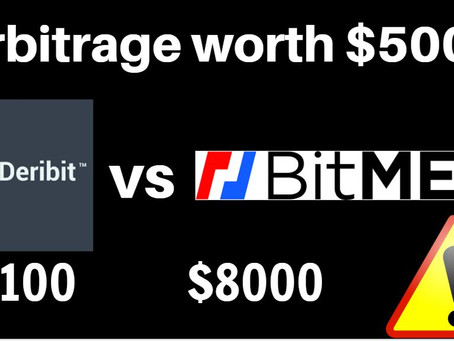 BitMEX vs Deribit - Bitcoin arbitrage? How to do it?