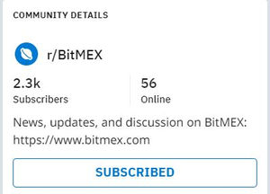 Bitmex Reddit reviews and opinions