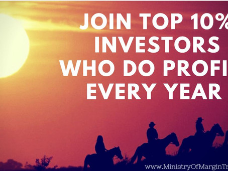 How to join the 10% investors elite, which earn money every single year with no risk?