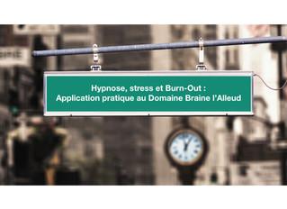 Hypnose, stress et Burn-Out.