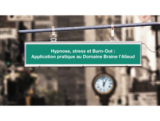 Hypnose, stress et Burn-Out.