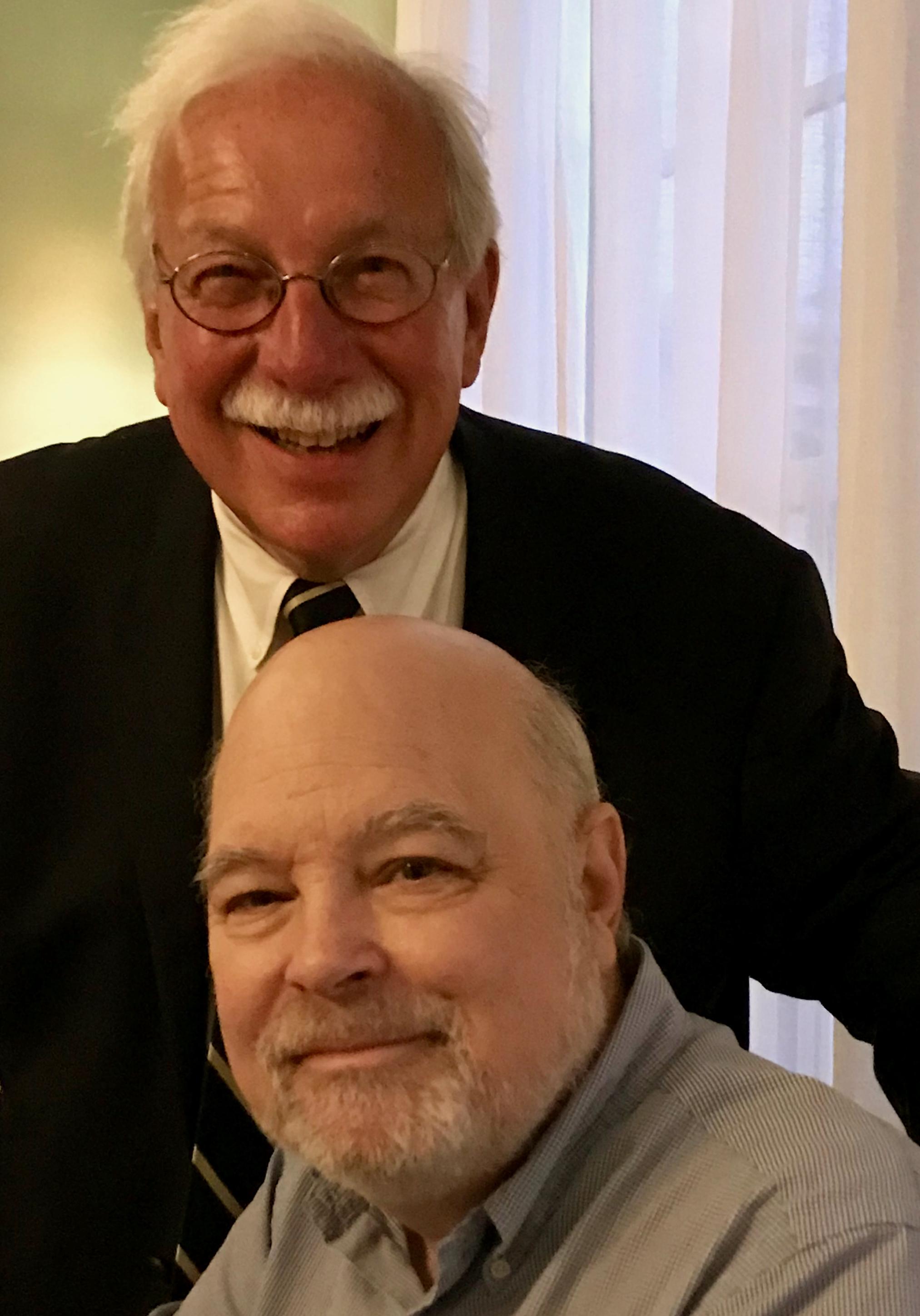 Lee Jones and Tom Brown