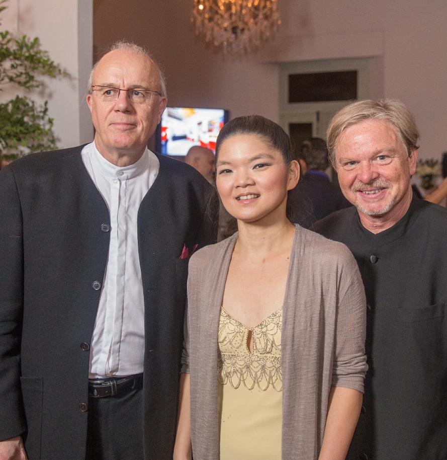 Paul Silverthorne, Janet Sung, John Thomas Dodson