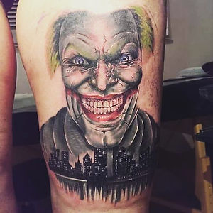 jocker tattoo tetovaza