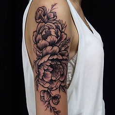 flowers tattoo tetovaza