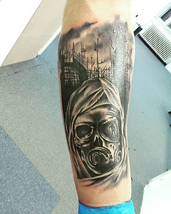black and gray tattoo tetovaza