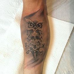 owl tattoo tetovaza